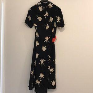 Topshop midi dress